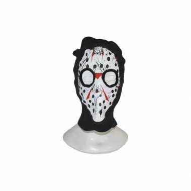 Bivakmuts met masker print