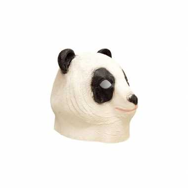 Dierenmasker panda van latex