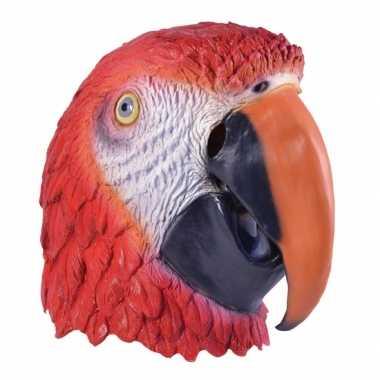 Dierenmasker papegaai