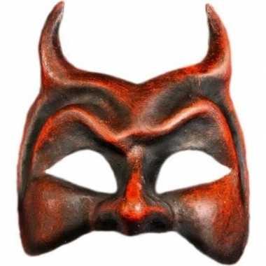 Duivel masker handgemaakt