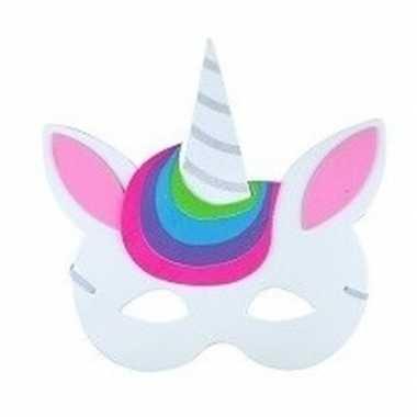 Eenhoorn oogmasker foam voor kinderen type 5