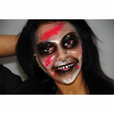 Enge zombie vrouw masker