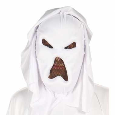 Geesten masker wit