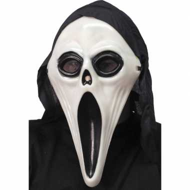 Glow in dark scream masker
