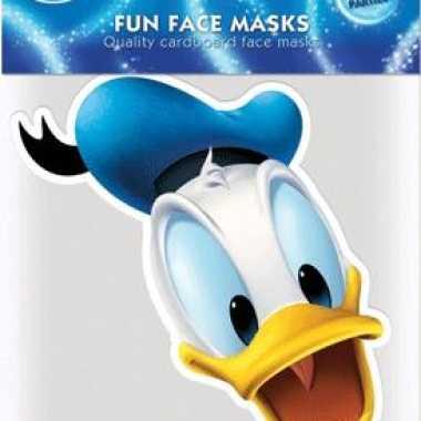 Kartonnen masker donald duck