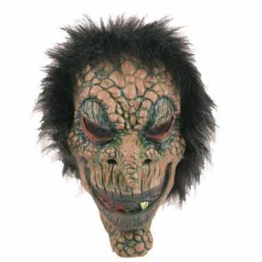 Latex horror masker boommonster