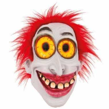 Latex horror masker enge clown