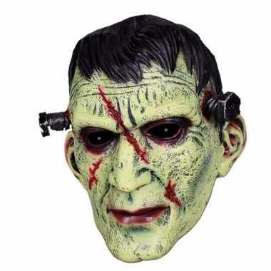 Latex horror masker frankenstein