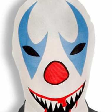Morphsuit killer clown masker