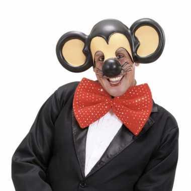 Muis masker met muizen oren