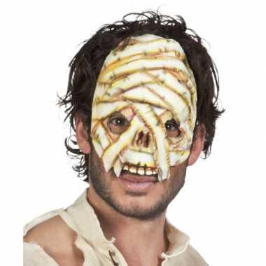 Mummie masker voor volwassenen