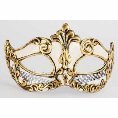 Muziek venetiaans masker handgemaakt 10080999