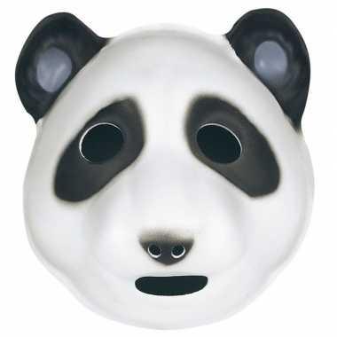 Pandaberen maskertje voor kids