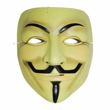Plastic v for vendetta masker