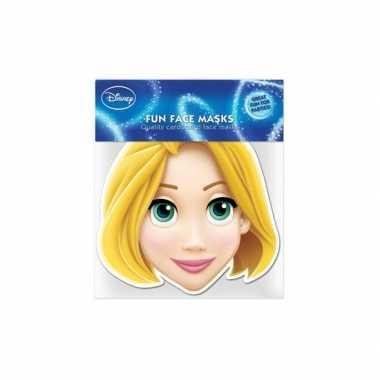 Rapunzel kartonnen masker