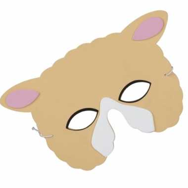 Schapen gezichtsmasker