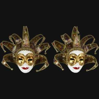 Tarot dames masker handgemaakt