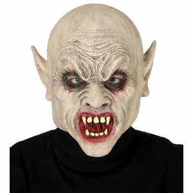 Vampier/zombie horror masker van latex