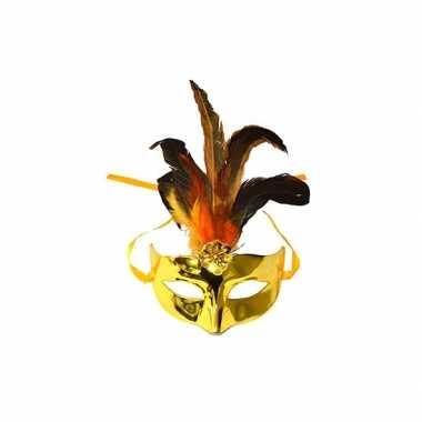 Venetiaanse goud oogmasker