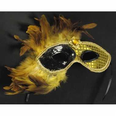 Venetiaanse verkleedmasker goud