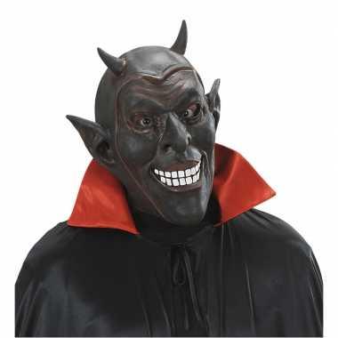 Verkleed duivel masker voor volwassenen