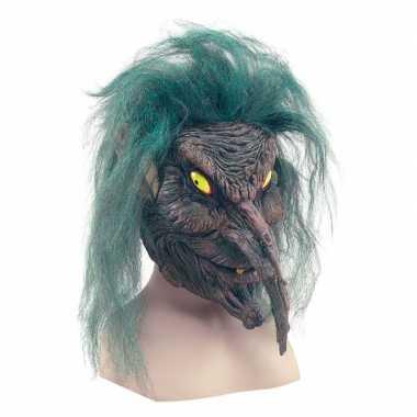 Verkleed geest masker boommens voor volwassenen
