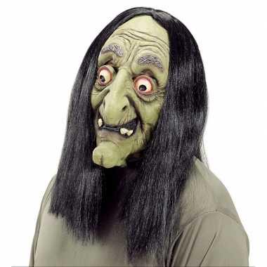 Verkleed heks masker voor volwassenen