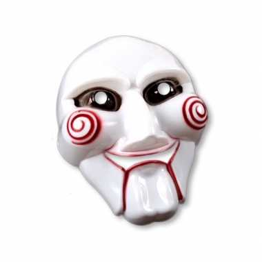Verkleed masker wit jig saw