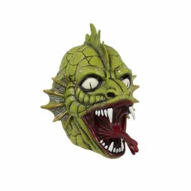 Verkleed moerasmonster masker voor volwassenen