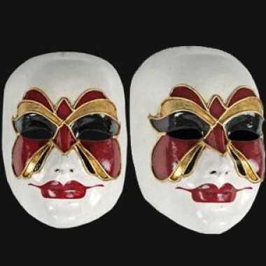 Vlinder masker handgemaakt