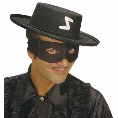 Voordelige boeven maskers zwart