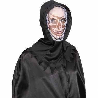 Witte skeletten maskers