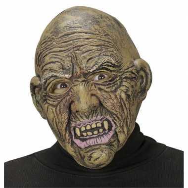 Zombie heks masker voor volwassenen