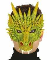 Draak draken horror masker van foam