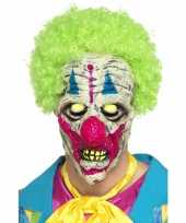 Glow in the dark clowns masker