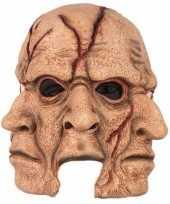 Horror 3 gezichten masker