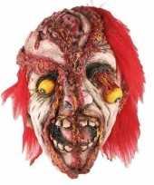 Horror gele ogen masker