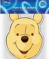 Kartonnen masker winnie de pooh