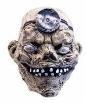 Latex horror masker mad doctor