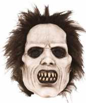 Latex horror masker scary zombie