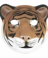 Tijger masker soft foam materiaal