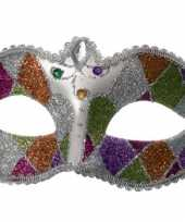 Venetiaanse oogmaskers glitter