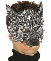 Wolf wolven horror masker van foam